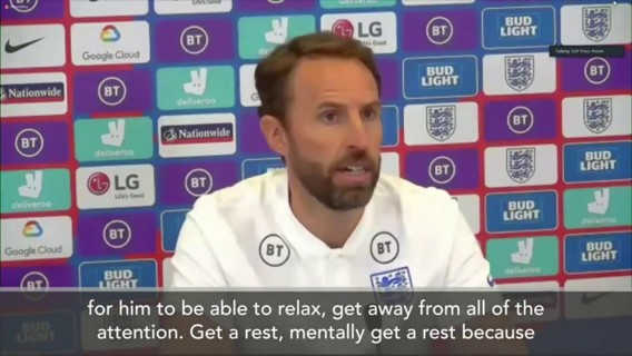 Eng Sub: 'Maguire to return in October' after Greek court case - says Southgate