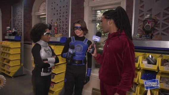 Cast of Nickelodeon's Danger Force Give Us a Set Tour