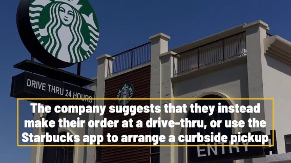 All Starbucks Stores Now Require Customers To Wear Masks