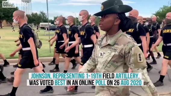 Watch This Award-Winning Female Drill Sergeant Rally The Troops...
