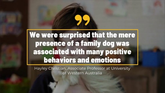 Kids That Grow Up With Dogs Have Better Emotional Wellbeing