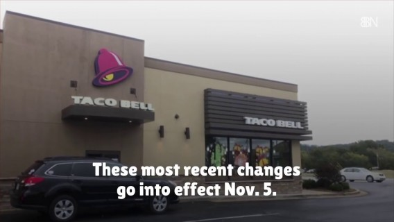 Taco Bell Changes The Menu