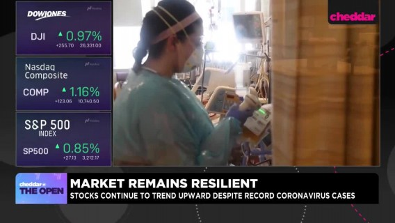 Stock Market Remains Unfazed by Record Coronavirus Cases