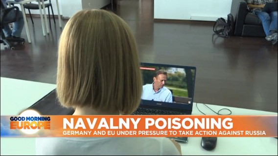 Navalny: MEPs call for EU sanctions and international investigation into Novichok attack