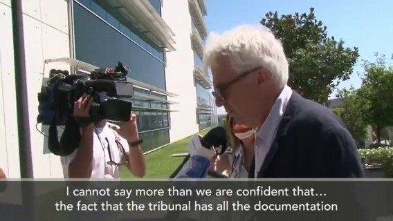 Eng Sub: Rui Pinto lawyers 'confident' he is not guilty as trial gets underway