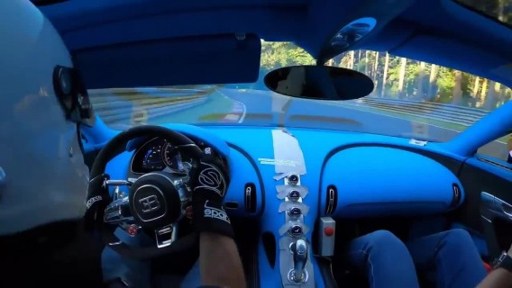 Bugatti Chiron Pur Spor - Final hadling tests on the Nordschleife