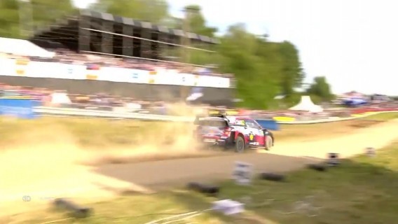 Highlights from day 2 of Rally Estonia