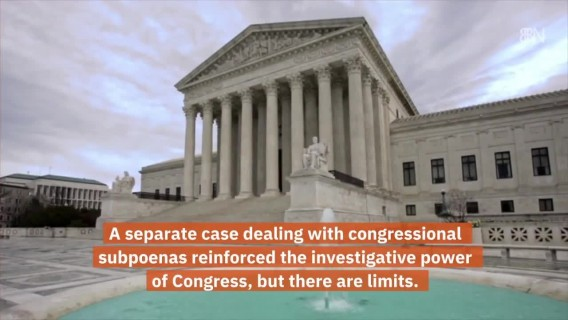 Supreme Court And Trump's Financial Records