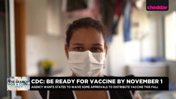 WHO says Widespread Vaccines Not Expected Until Mid 2021, While CDC Tells States to Be Ready by November 1