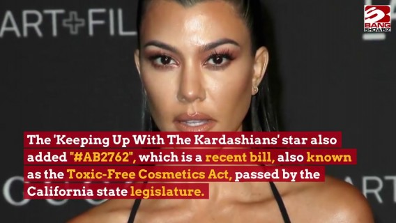 Kourtney Kardashian lobbies governor to ban toxic chemicals